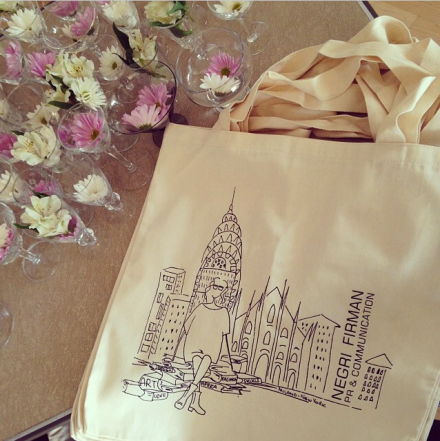 Negri Firman Shopper Bags